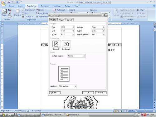 word 2007 proposal